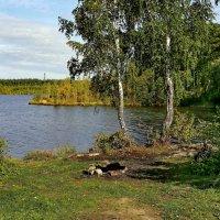 Осенние прогулки на Чусовское озеро :: Пётр Сесекин