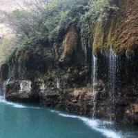 Водопад на реке Сулак :: Дмитрий Сарманов