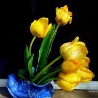А я иду к тебе навстречу...И несу тебе цветы! :: TAMARA111777