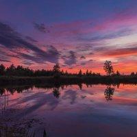 Закат уходящего лета. :: Pavel Vasilev