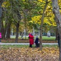 Отдых в парке :: Валентин Семчишин