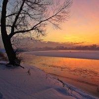 Зимний вечер на Иртыше :: Aндрей Антонов