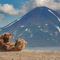 Завтрак с видом на вулкан :: Денис Будьков