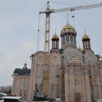 Во славу и на средства народа... Строится Храм Божий... :: Андрей Хлопонин