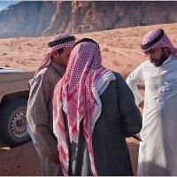 Инспекция в пустыне Вади Рам :: Lmark