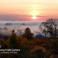 туман над городом :: Сергей Старовойт