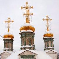 купола Свято-Троицкого собора :: Евгений Тарасов
