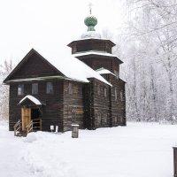 Церковь Ильи пророка из села Верхний Березовец ( г. Кострома ) :: Сергей Поникаров