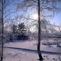 Мороз и солнце! :: Вера Андреева