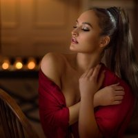 дама в красном :: Nika Goncharova