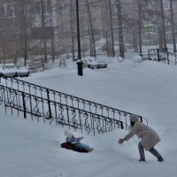 Первая зима. :: Венера Чуйкова