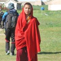 Монах буддийского монастыря :: Галина