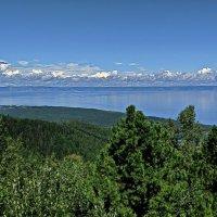 Байкал с горы Соболиной :: Любовь Чунарёва