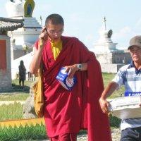 Буддийские монахи :: Галина