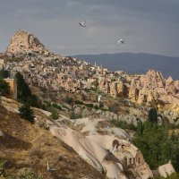 Долина голубей. Каппадокия. :: Сергей Яснов