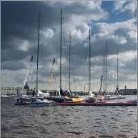 Регата в СПб ***Regatta in St. Petersburg :: Aleksandr Borisov