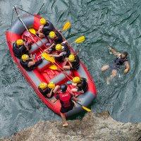 """Рафтинг- путешествия по горной реке. :: """"Наиль Батталов"""
