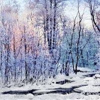 Зимняя пастель :: Wirkki Millson