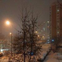 Ночь перед 8 марта. Пока вполне зима. Мне нравится :: Андрей Лукьянов