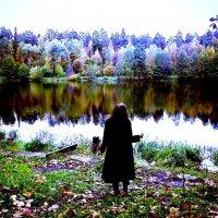 Озеро осенью :: Nora Nowhere