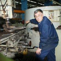 Работа фрезеровщика... :: Сергей Порфирьев
