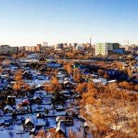Старая Уфа с 15 этажа. :: Константин Вавшко