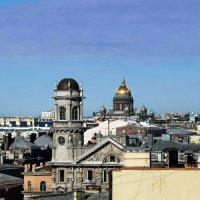 Крыши Санкт-Петербурга :: Сергей