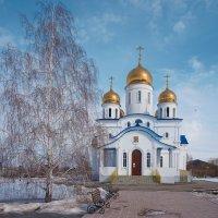 Церковь Покрова Пресвятой Богородицы в Хворостянке :: Инна Драбкина