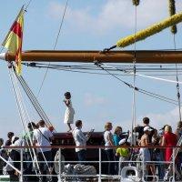 Осмотр корабля на Неве :: vadim