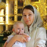Мать и дитя. :: Пётр Четвериков