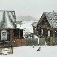 Снегопад в праздник БЛАГОВЕЩЕНИЯ :: Юрий Пучков