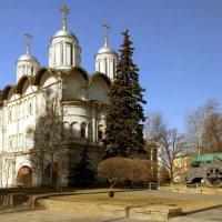 Церковь двенадцати апостолов и Царь-пушка. :: веселов михаил