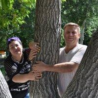У свадебного дерева любви и встреч... :: Андрей Хлопонин