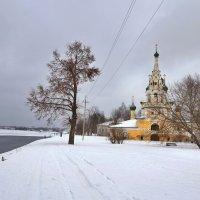 Церковь Рождества Иоанна Предтечи на Волге :: Константин