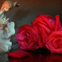 Девочка с розами :: Нэля Лысенко