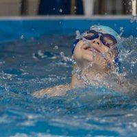 В бассейне :: Виктор Фельдшеров