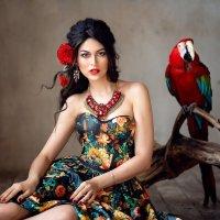 Вариации на тему Фриды Кало :: Ирина Кулага