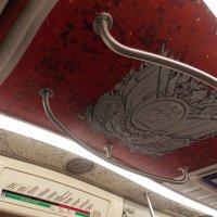 Оформление  вагона в метро Санкт-Петербурга-3 :: Фотогруппа Весна-Вера,Саша,Натан