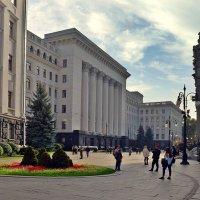 Перед администрацией президента :: Татьяна Ларионова