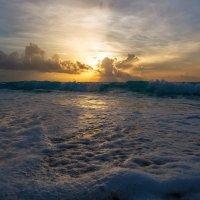 Закатная...Мексика,Карибское море! :: Александр Вивчарик