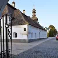 Взгляд на территорию Михайловского монастыря :: Татьяна Ларионова