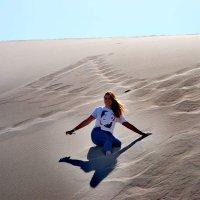 Спортивный туризм,в песчаных дюнах :: Андрей Хлопонин