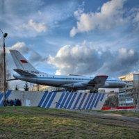 памятник самолету Ту-104 А :: anderson2706