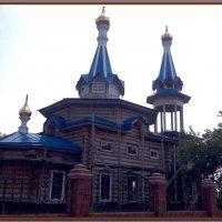Строится храм в Максимовщине :: Владислав Савченко