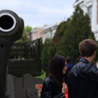 Артиллерия — бог современной войны. :: просто Борисыч
