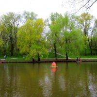 Леоновский пруд  в парке «Сад Будущего» :: Ольга Довженко