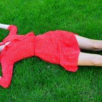 Отдых на траве :: Елена