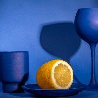 Натюрморт с лимоном :: Николай Галкин