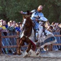 Проезд победителя на рыцарском турнире... :: Anatoley Lunov