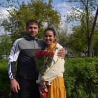 Мужчины...Дарите женщинам цветы... :: Андрей Хлопонин